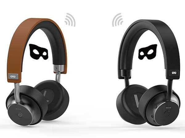 DoublePods Click-to-Share Bluetooth On-Ear Headphones
