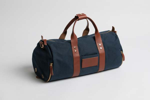 Everyday Duffle Bag with Two Shoe Compartments and Packing Kit