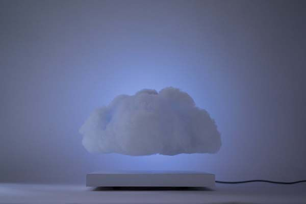 Floating Cloud Levitating Ambient LED Lamp