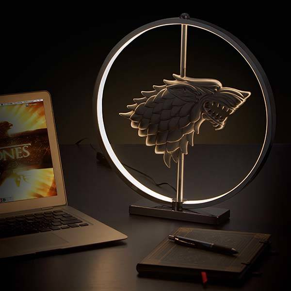 Game of Thrones LED Lamp Inspired by Stark Creat