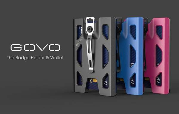 GOVO Badge Holder Serves as Slim Wallet