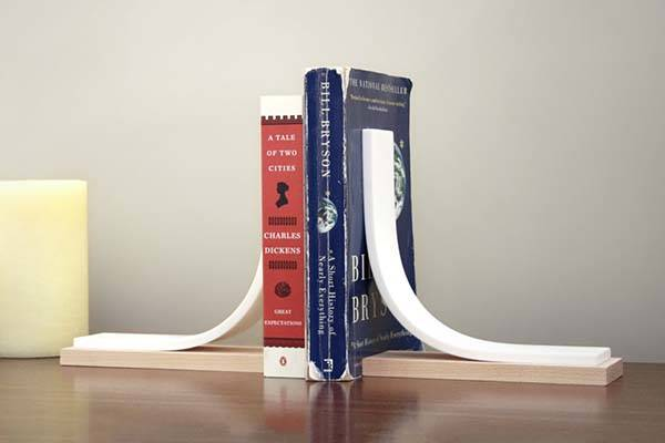 Handmade Minimal Bookends