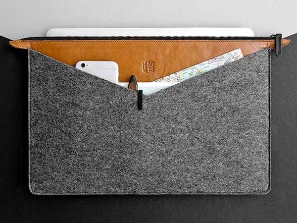 Handmade Universal Folder Wool Felt Laptop Sleeve