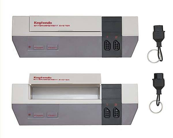 Keytendo NES Game Console Wall Key Holder
