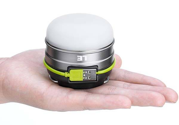 LE Magnetic Portable LED Camping Lantern with Power Bank