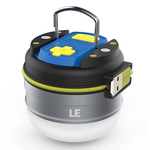 Le Magnetic Portable Led Camping Lantern With Built In