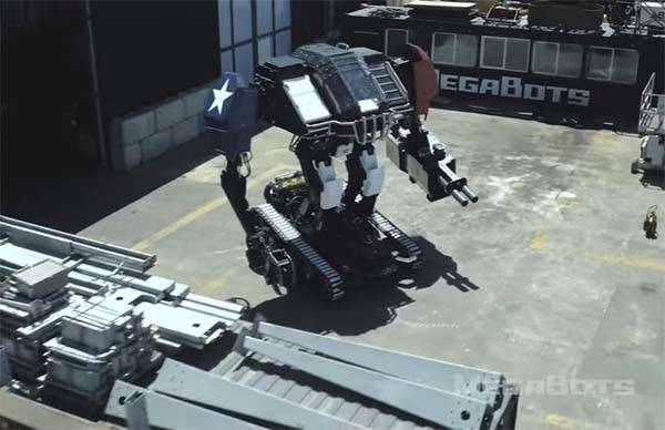 Eagle Prime from MegaBots Ready for Giant Robot Duel