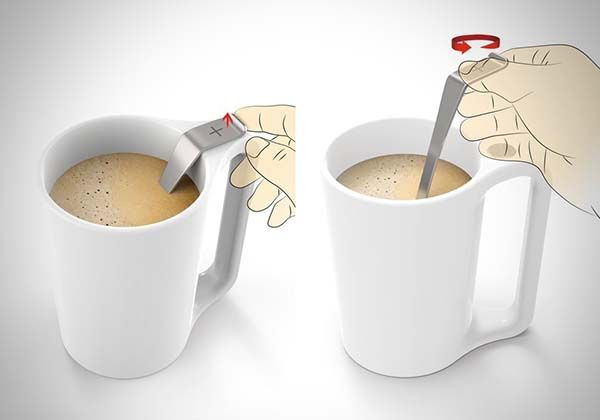 Modular Mug+ Keeps Its Spoon or Tea Infuser in Place