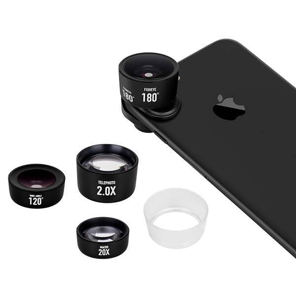 Momax X-Lens Pro iPhone Lens Kit