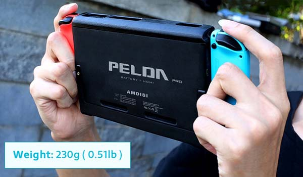 Pelda Pro Nintendo Switch Battery Case with HDMI