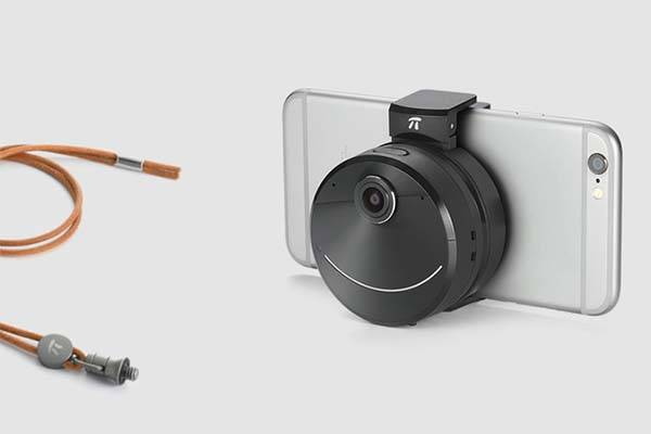 Pi Solo Wearable Mini Camera Features Live Broadcasting