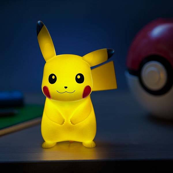 Pokemon Pikachu Led Accent Lamp Gadgetsin