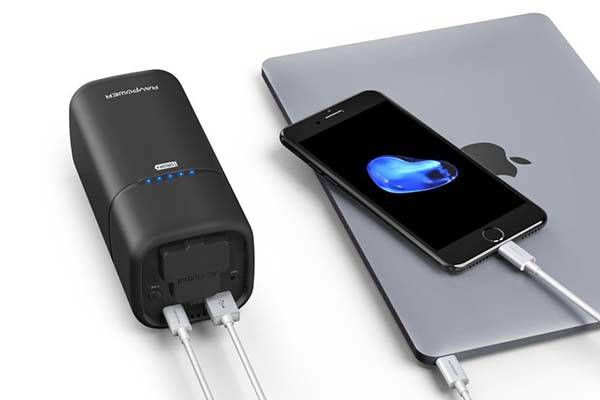 RAVPower Universal Power Bank with AC Outlet and USB-C