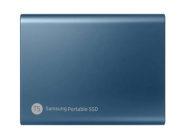 Samsung Portable SSD T5 with USB-C