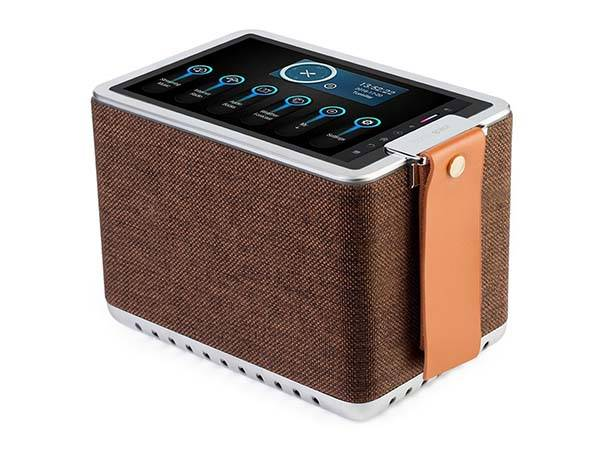 Sonicgrace WiFi Internet Radio and Bluetooth Speaker with 8-Inch Touchscreen