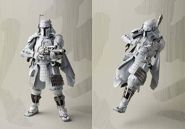 Star Wars Ronin Samurai Boba Fett Action Figure Prototype Edition