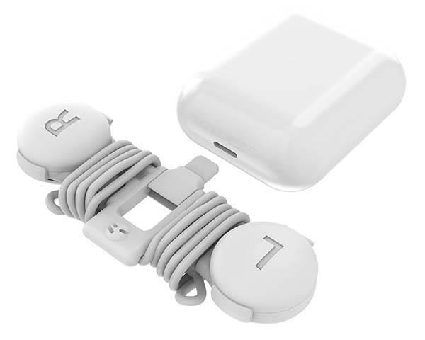Earbuds case soft - lightning earbuds case