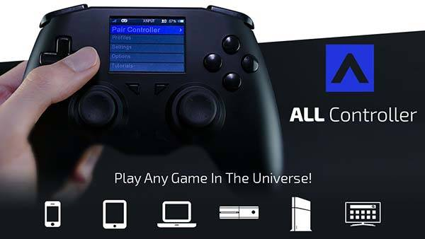 ALL Customizable and Universal Game Controller