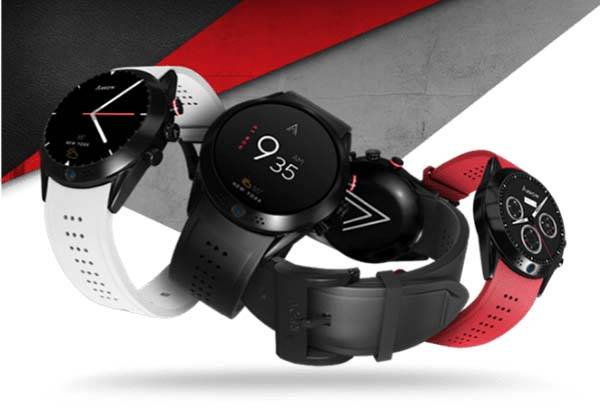 Arrow Smartwatch with Rotatable HD Camera on the Bezel