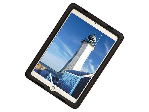Rugged 9.7-Inch iPad Pro Case with Apple Pencil Holder