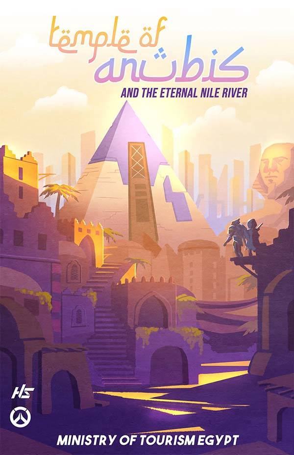 The Travel Overwatch Poster Set