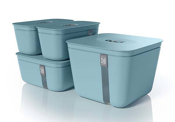Vacuvita Vacuum Food Storage Containers
