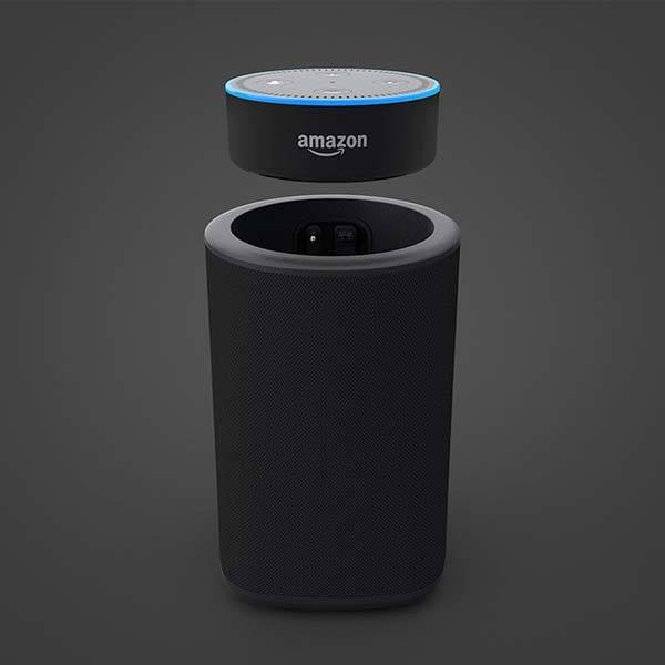 VAUX Portable Wireless Echo Dot Speaker