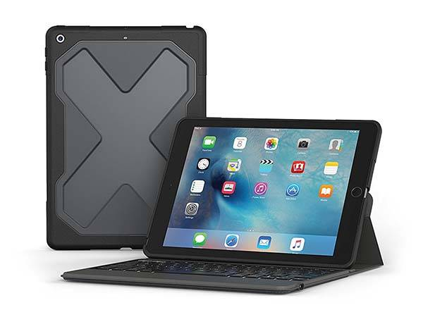 Rugged Messenger iPad 9.7-Inch Keyboard Case