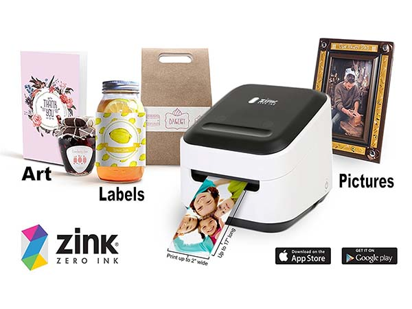 ZINK Portable WiFi Photo Printer
