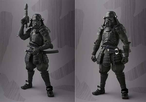 Bandai Samurai Styled Shadowtrooper Action Figure