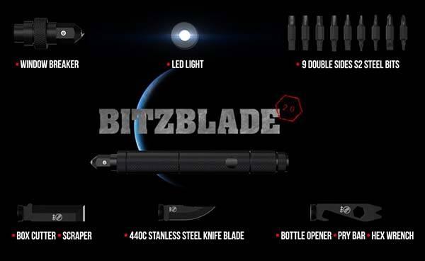 BitzBlade 2.0 EDC Multi-Tool