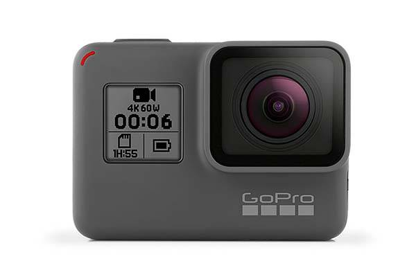 GoPro HERO6 Black Waterproof 4K Action Camera