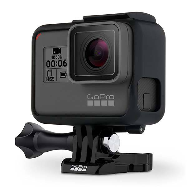 GoPro HERO6 Black 4K Waterproof Action Camera