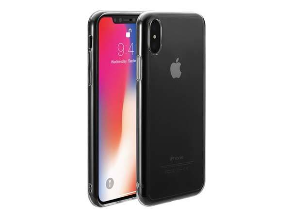 Just Mobil Tenc Self-Healing Transparent iPhone X Case