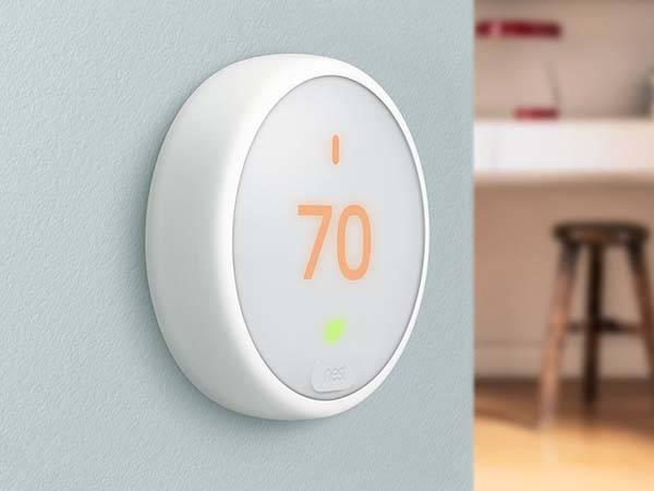 Nest Thermostat E with Amazon Alexa