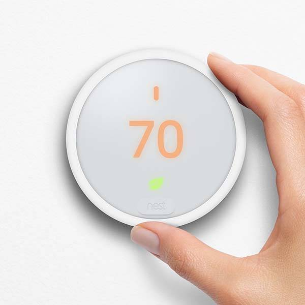 Nest Thermostat E with Amazon Alexa