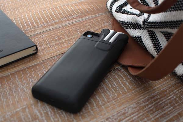 PodCase iPhone 7 Battery Case with AirPods Holder