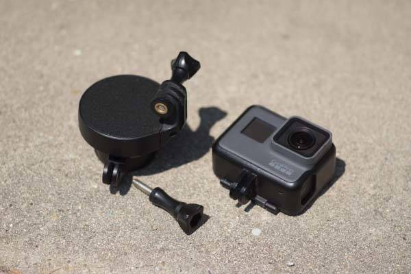 Quark Waterproof Action Camera Stabilizer