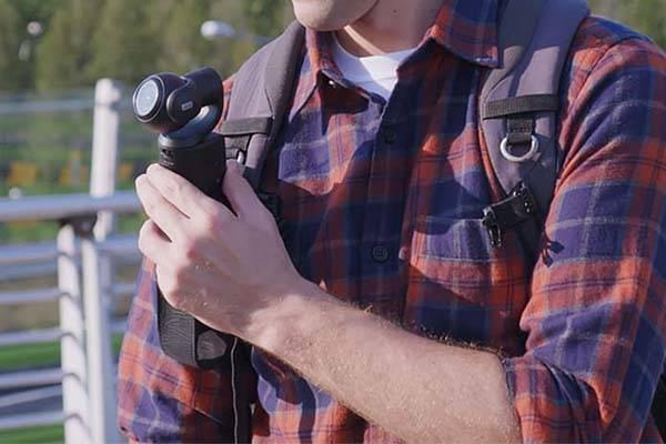 Removu K1 Self-Stabilizing 4K Action Camera with Gimbal