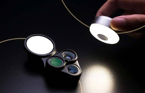 RevolCam Phone Lens Kit with Detachable LED Light