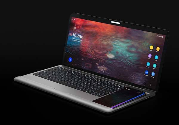 Samsung Dex Book Turns Galaxy S8/S8+ into Laptop