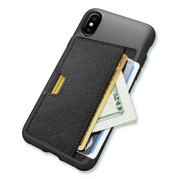 Q Card iPhone X Wallet Case