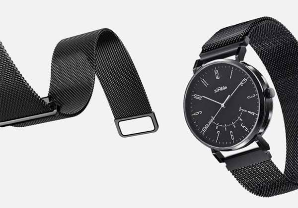 Simble Hybrid Smartwatch with Built-in Fitness Tracker