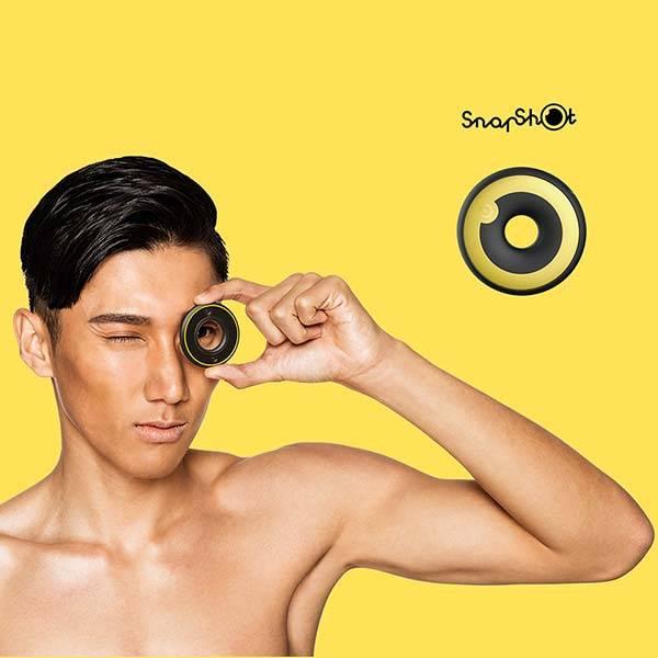 Snapshot Dual-Lens Mini Camera