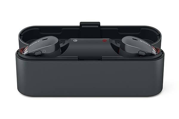 Sony WF1000X/B Noise-Cancelling True Wireless Earbuds
