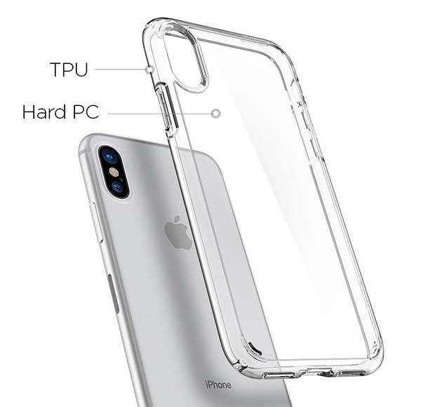 Spigen Ultra Hybrid Clear iPhone X Case