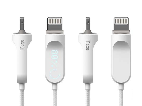 The Checkn Lightning Cable with LED Display