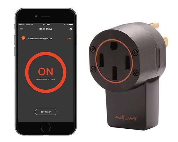 Wallflower Smart Stove Monitor