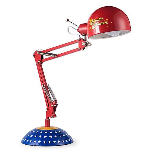 Wonder Woman Inspred Architect Desk Lamp Gadgetsin