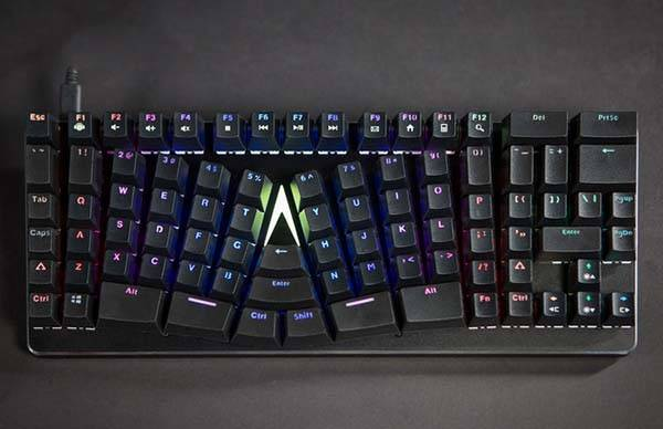 X-Bows Compact Ergonomic Mechanical Keyboard